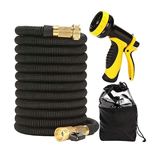 Expandable Tuinslang 9 Modes van Verstelbare Nozzle Dichte Durable Flexibele Garden Waterslang Set voor in de auto wassen, schoonmaken, Watering,30m