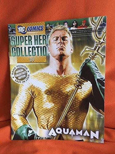 DC Comics - Figura de Plomo DC Comics Super Hero Collection Nº 31 Aquaman