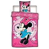 Minnie Parure de Lit Housse de Couette Disney