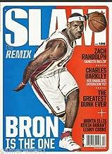 Slam Magazine April 2007 Lebron James Cover