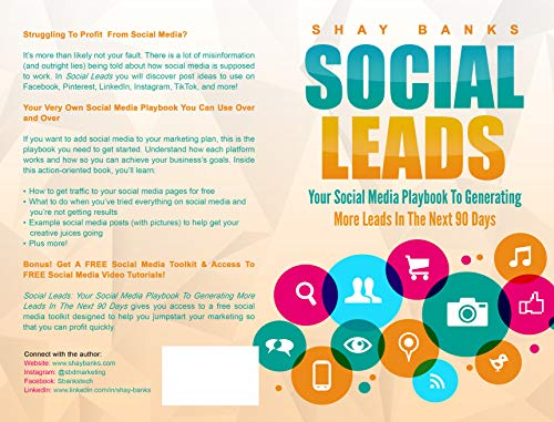 Social Leads: Your Social Media Playbook To Generating More Leads In The Next 90 Days (English Edition)