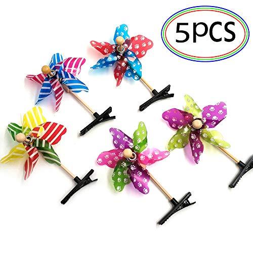 generisch Windmühle Haarschmuck 5 Stücke Haarspangen Haarclips für Kinder Mädchen