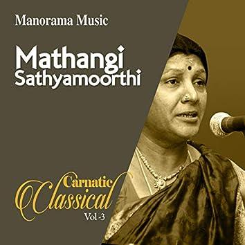 Mathangi Sathyamoorthi Classical Vol 3 (Carnatic Classical Vocal)