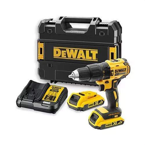 DEWALT DCD778D2T-QW DCD778D2T-QW-Taladro Percutor sin escobillas XR 18V Li-Ion 2Ah