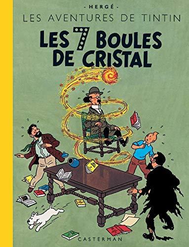 Tintin, les fac-similes couleurs - t13 - les 7 boules de cristal (Fac-similés)