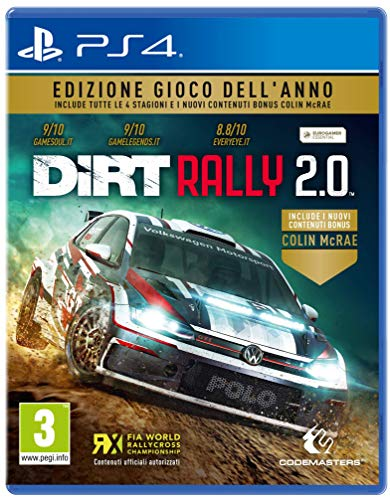 DiRT Rally 2.0 GOTY - Game of The Year - PlayStation 4