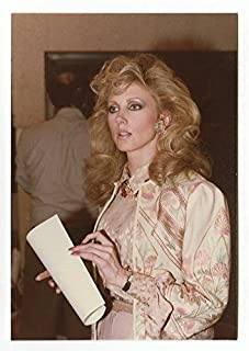 Morgan Fairchild - Original Vintage Candid Photo - Peter Warrack