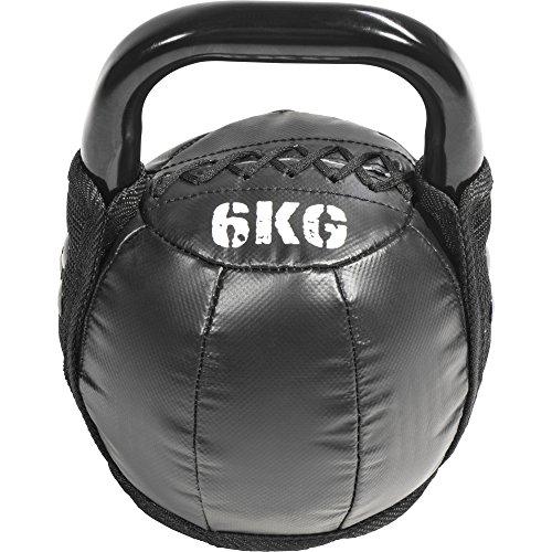 GORILLA SPORTS® Kettlebell Leder 6 kg