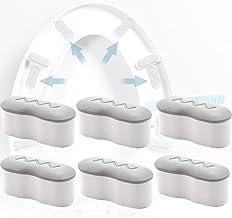 6 STKS Universele toiletbril Bumpers met 2 hoogteopties, wc-bril bumper vervangende kit met sterke lijm, toiletBumpers geb...