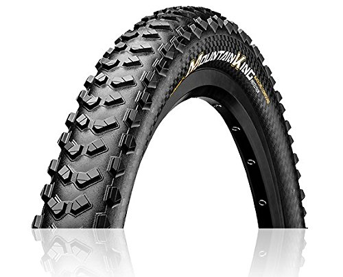Continental Unisex– Erwachsene Mountain King Fahrradreifen, schwarz, 29 X 2.30