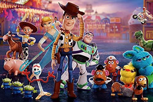 Tainsi Toy Story IT-00046 Lot de 4 posters Multicolore 11 x 17 pouces (28 x 43 cm)