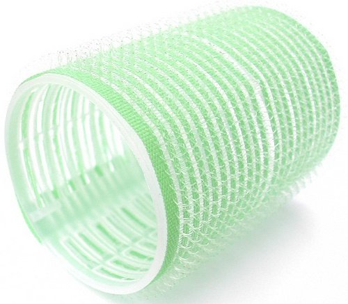Hair Tools Velcro Cling Hair Rollers - Large Green 48 mm x 12