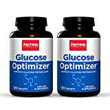 Jarrow Formulas Glucose Optimizer - 120 Tablets, Pack of 2 - Supports Glucose Metabolism - Includes...
