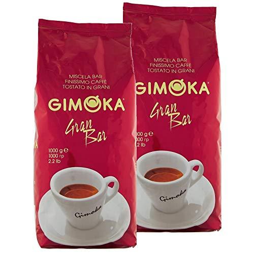1kg Kaffee bohnen Espresso Gimoka (2. GRAN BAR)