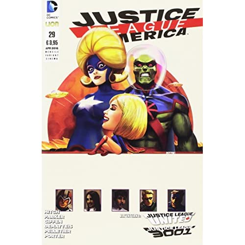 Justice League America. Variant cinema: 28