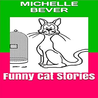Funny Cat Stories audiobook cover art