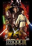 XIANGJING Puzzle de 1000 Piezas Adultos Póster de la película Star Wars: Episodio III DIY Intelectual Educativo Divertido Juego Familiar Puzzle,Juguete Regalo para Niños