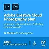 Creative Cloud Photography plan with 20GB | 1 Año | PC/Mac | Código de activación enviado por email