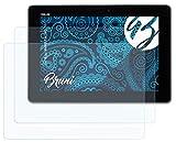 Bruni Schutzfolie kompatibel mit Asus MeMO Pad FHD 10 Folie, glasklare Bildschirmschutzfolie (2X)