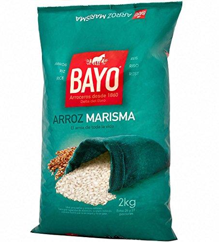 Bayo Arroz Marisma - Paquete de 6 x 2000 gr - Total: 12000 gr