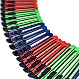 Online Best Service Utility Knife Box Cutter Retractable Blade Snap off Razor Knife with Safety lock 5' Wholesale lot (24 Pack)