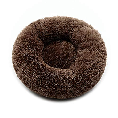 N\C Pet Supplies, Cat Bed, Dog Bed, Pet Bed, Round Cotton Nest Sleeping Mat, Available In All Seasons, Plush