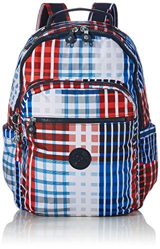 Kipling Backpack Seoul Bold Check