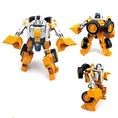 VANKER Véhicule d'Ingénierie Armure Torsion Déformation Voiture Robot Puzzle Jouet pour Enfant Chariot élévateur