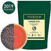 VAHDAM, 2019 Harvest - Darjeeling Black Tea Leaves from Himalayas, (120+ Cups) 255g | 100% Certified Pure Unblended Darjeeling Tea | FTGFOP1 Grade Loose Leaf Tea | Packed & Shipped from India