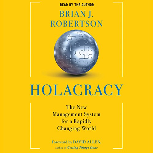Holacracy audiobook cover art