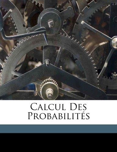 Calcul Des Probabilitesの詳細を見る