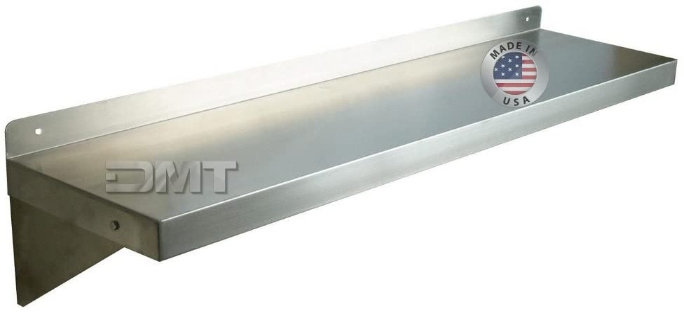 DMT Stainless Wall Shelf. Deep. Max 71% OFF 8