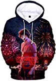 FLYCHEN Sudadera Stranger Things 3 New Season para Niñas 3D Impreso Digital Select Your Character Po...