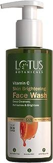 Lotus Botanicals Vitamin C Skin Brightening Face Wash - 180ml