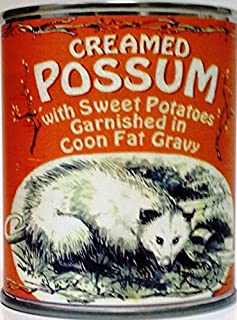 creamed possum in a can