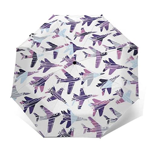 平面 自動開閉式折りたたみ傘 ワンタッチ 折りたたみ傘 耐強風撥水 大きいサイズ 雨傘 日傘 持ち運びが簡単 おしゃれ 個性 晴雨兼用