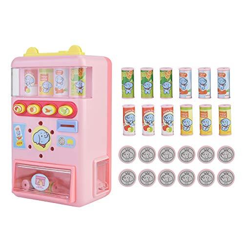 iFCOW Juguete de la máquina expendedora, educación temprana del desarrollo, juguetes de las máquinas de juego de compras, regalo de cumpleaños para niños de 3 4 5 6 años