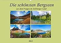 Die schoensten Bergseen aus dem Pongau (Wandkalender 2022 DIN A2 quer): Romantische glasklare Pongauer Bergseen (Monatskalender, 14 Seiten )