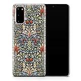 Coque design pour Samsung S6 Edge Plus William Morris Flowers Pattern D113 - Design 3
