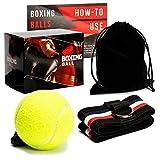 Loomiloo Reflex Box Ball mit Stirnband | Perfektes Reflex Training für Zuhause | Steigern Sie Ihre...
