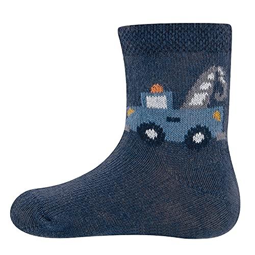 Ewers Abschleppwagen Kindersocken für Jungen, MADE IN TURKEY, Socken Jungensocken