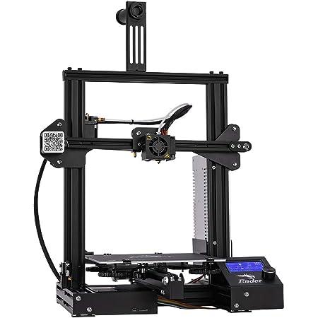 Creality 3D Ender 3 3Dプリンター 最大印刷サイズ220x220x250mm 停電復旧機能 高精度 初心者/学校等向け DIY 3Dプリンタ 日本語説明書
