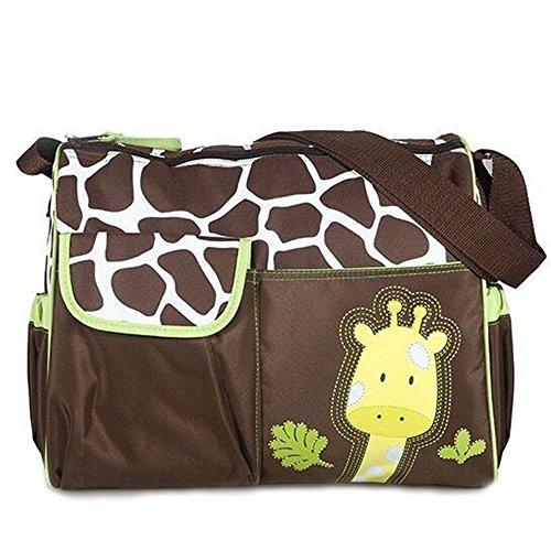 Naerde cambiando modello giraffa multifunzionale pannolino borsa mummia Baby