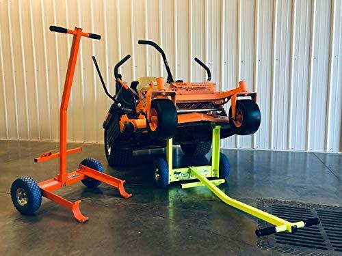 Ballard Inc Super Jack Pro - Mower Jack- ZTR, Stander, Walk Behinds (High Vis...