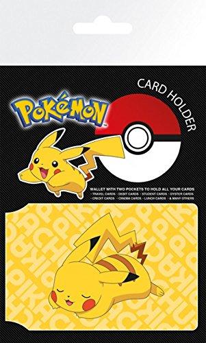 1art1 Pokemon - Resting Pikachu Tarjeteros para Tarjetas De Crédito (10 x 7cm)