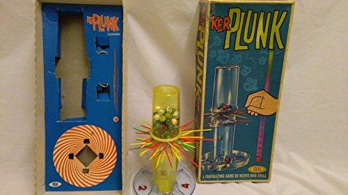 Vintage Kerplunk/Ker plunk juego por ideal c. 1967 VGC completa para la...