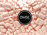 DMSE 1/2 Cu Ft Anti Static No Stick Recyclable Packing Peanuts Popcorn S-Shape Loose Fill ...
