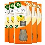 AirWick Ambientador difusor de cañas, puro sol meditteraneo, multipack de 5 x 25 ml