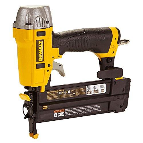 DEWALT DPN1850-XJ DPN1850 Druckluft Nagler ölfrei wartungsfrei 18G 15-50mm mit Koffer, Yellow, m