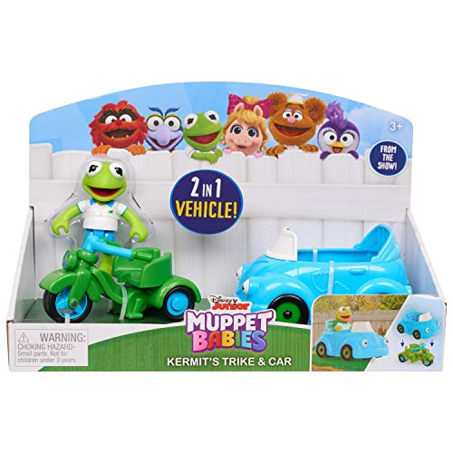Muppets Babies Kermit's Trike and Car